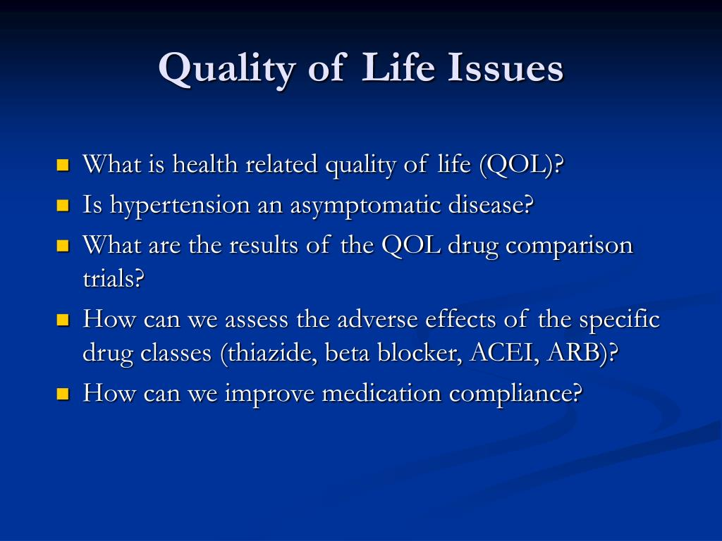 issues affecting the quality of life While progress has been made, care quality issues in nursing homes and  residential care facilities (also called assisted living) continue to be.