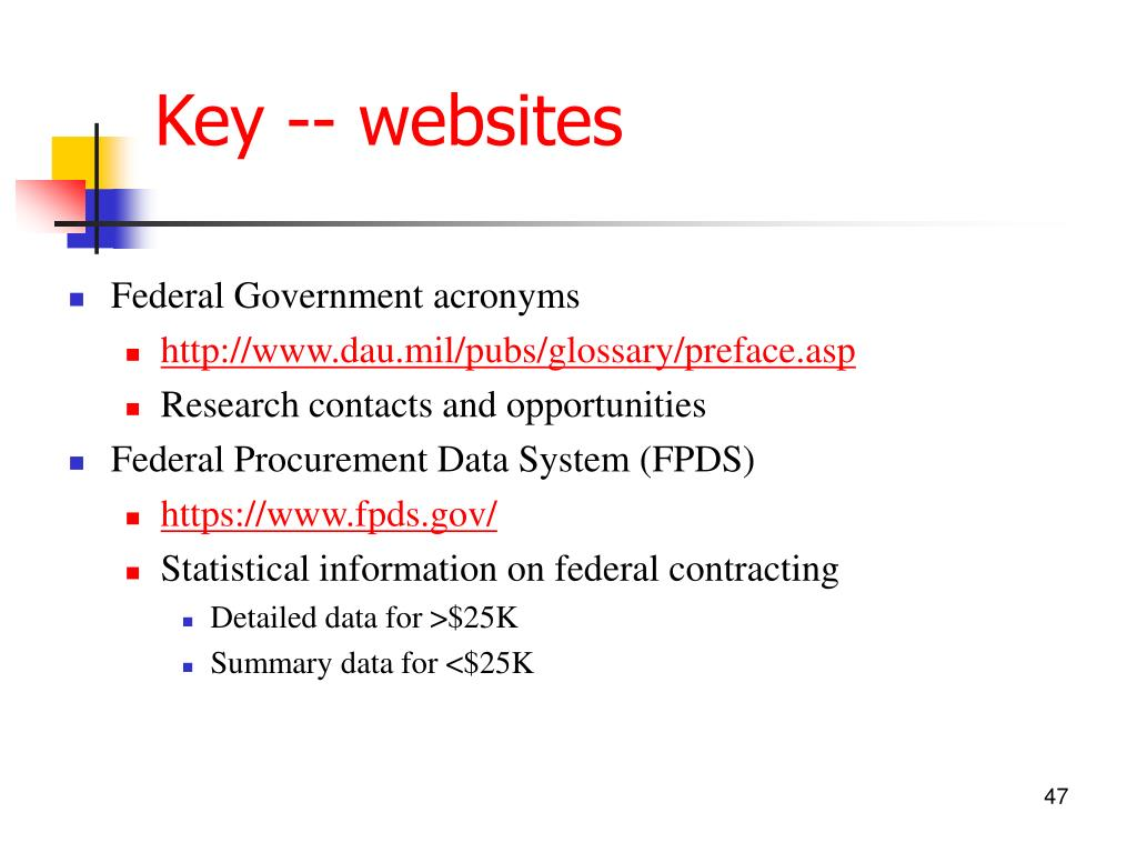 Key -- websites