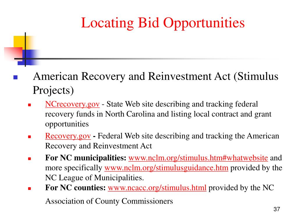 Locating Bid Opportunities