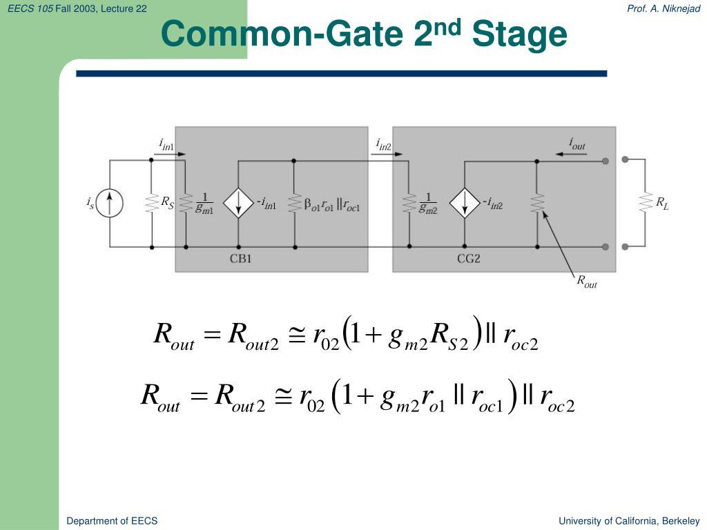 Common-Gate 2