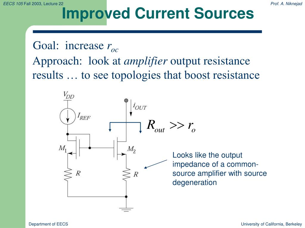Improved Current Sources
