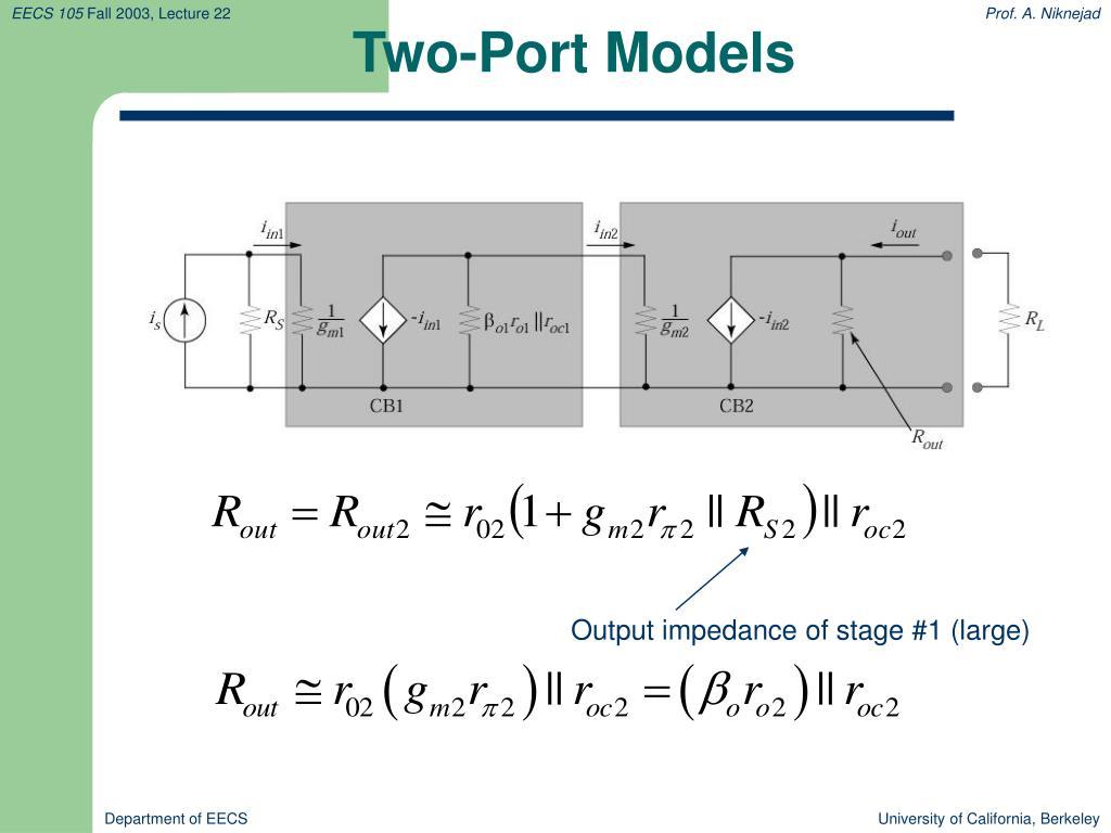 Two-Port Models