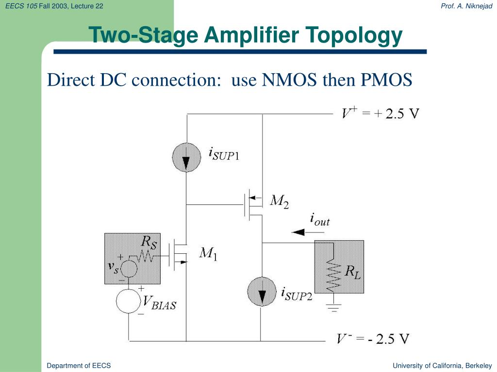 Two-Stage Amplifier Topology