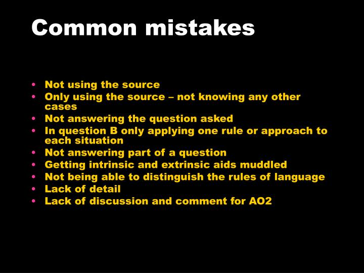 Common mistakes l.jpg