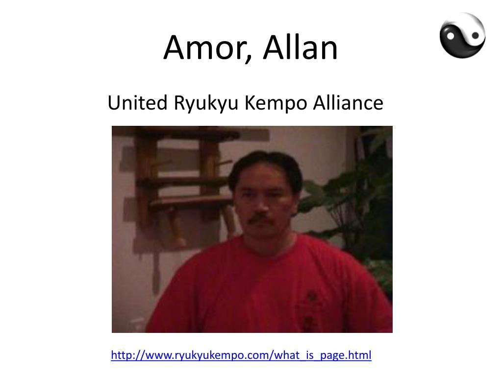 Amor, Allan