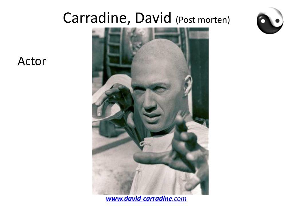 Carradine