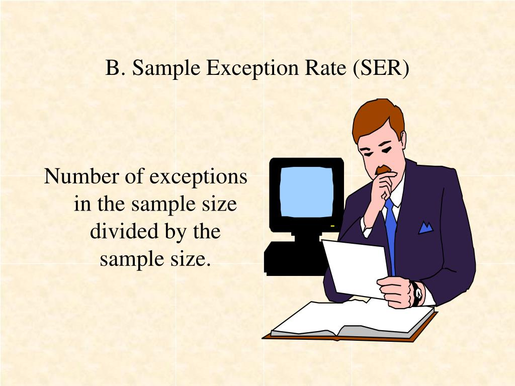 B. Sample Exception Rate (SER)