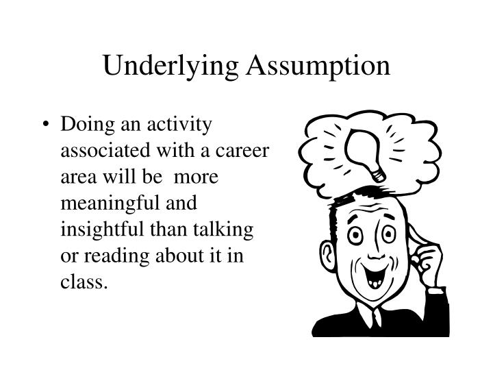 Underlying Assumption