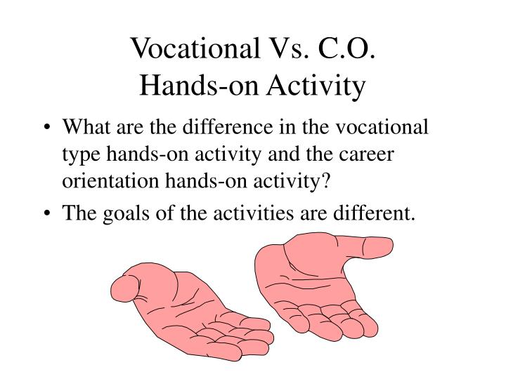 Vocational Vs. C.O.