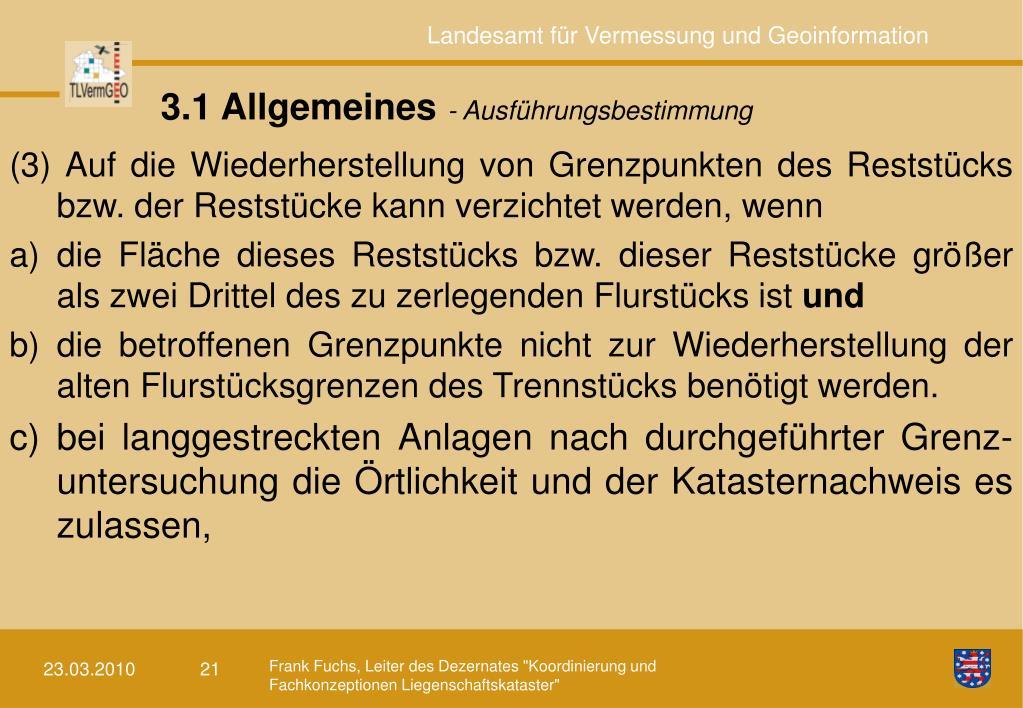 3.1 Allgemeines