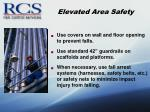 elevated area safety