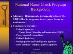 national name check program background32