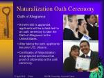 naturalization oath ceremony