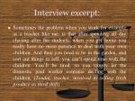 interview excerpt15
