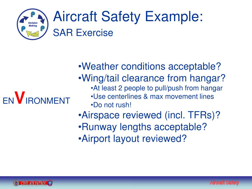 Aircraft Safety Example: