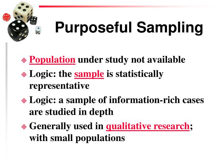 Principles of Purposeful Sampling