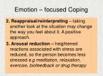 emotion focused coping9
