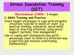 stress inoculation training sit22