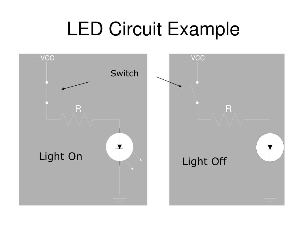 LED Circuit Example