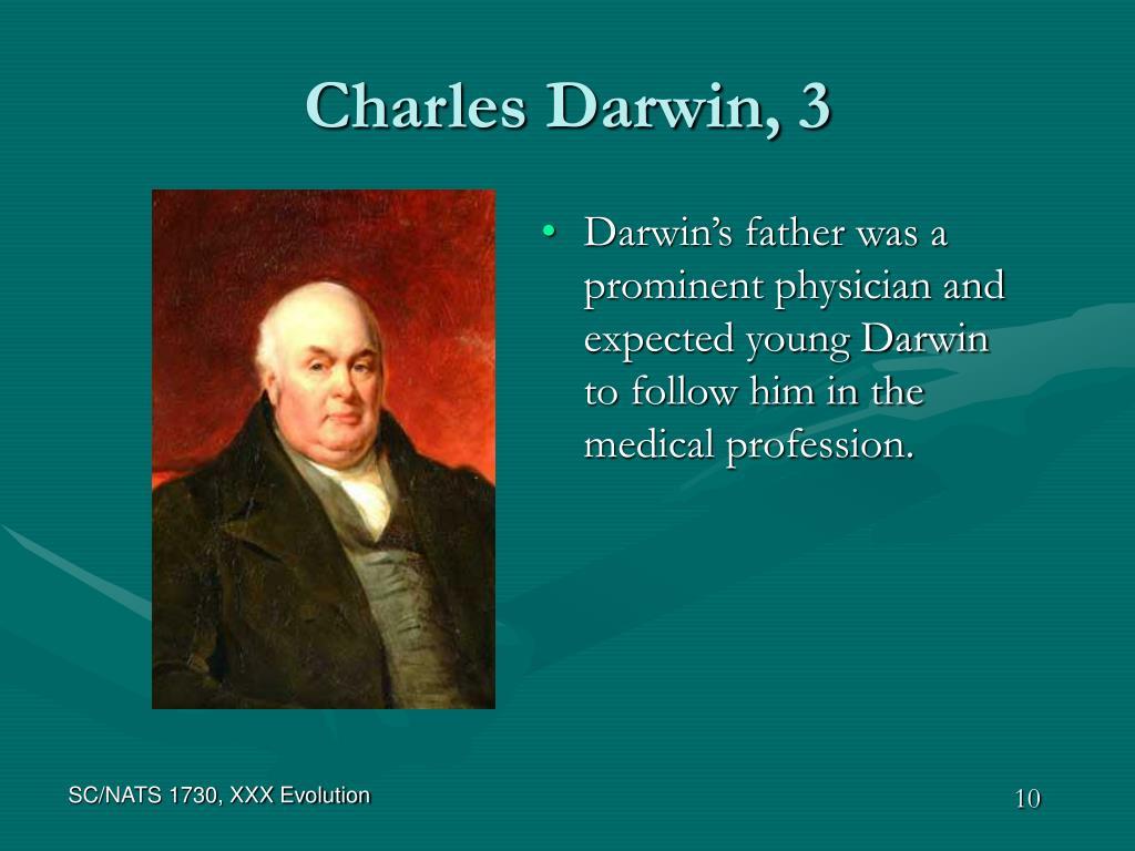 Charles Darwin, 3