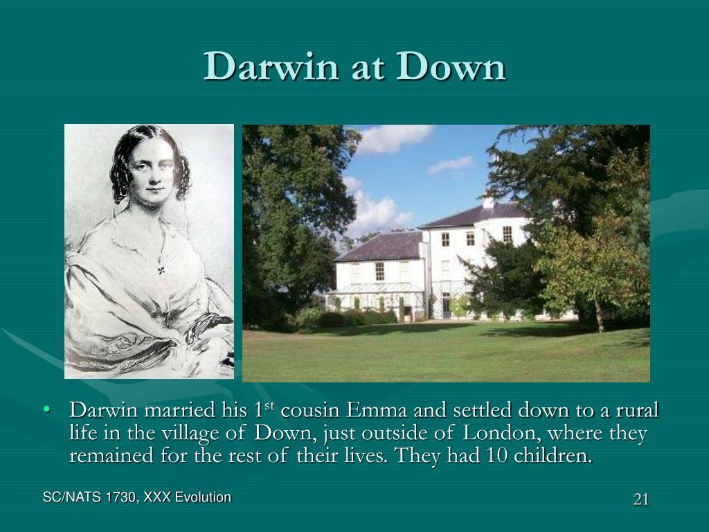 Darwin at Down