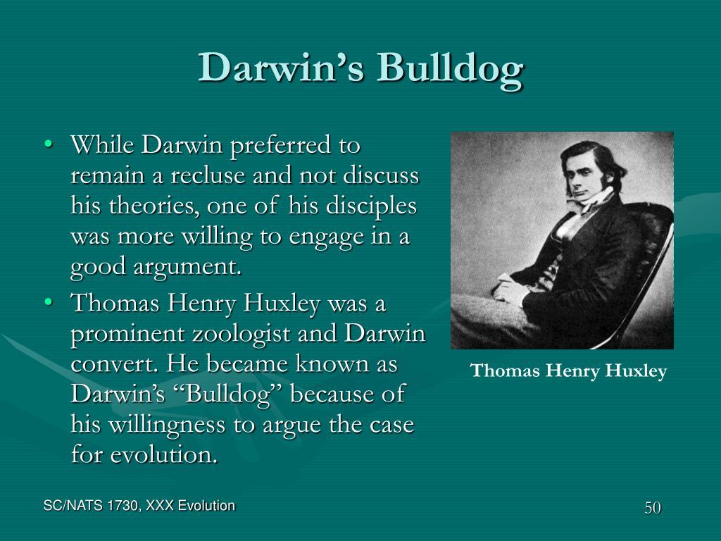 Darwin's Bulldog