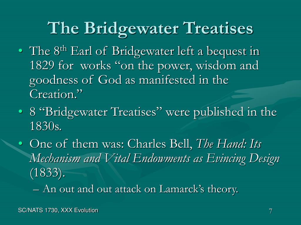 The Bridgewater Treatises