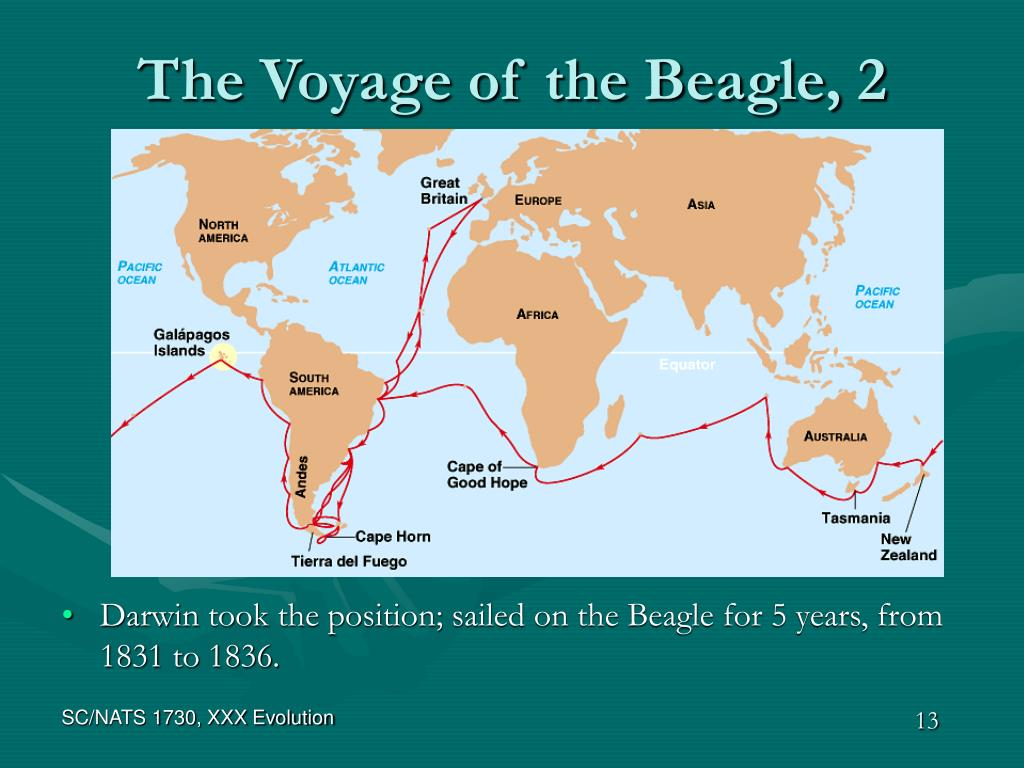 The Voyage of the Beagle, 2