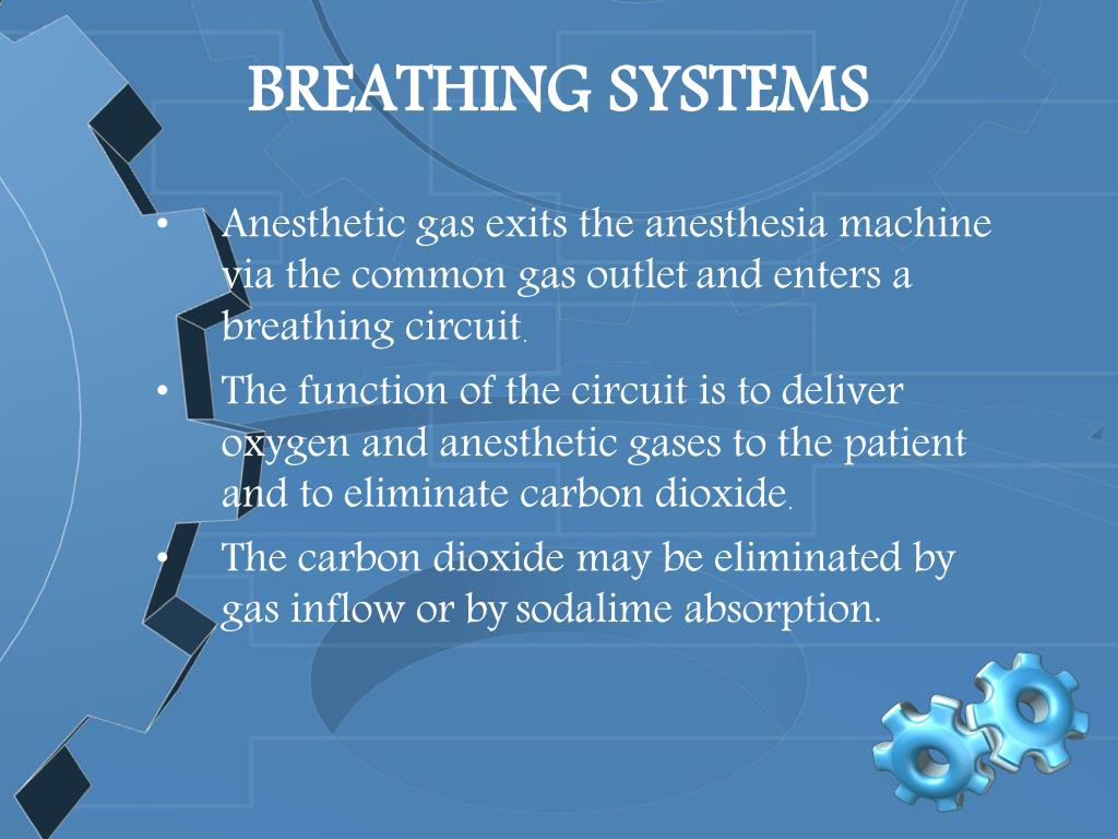 BREATHING SYSTEMS