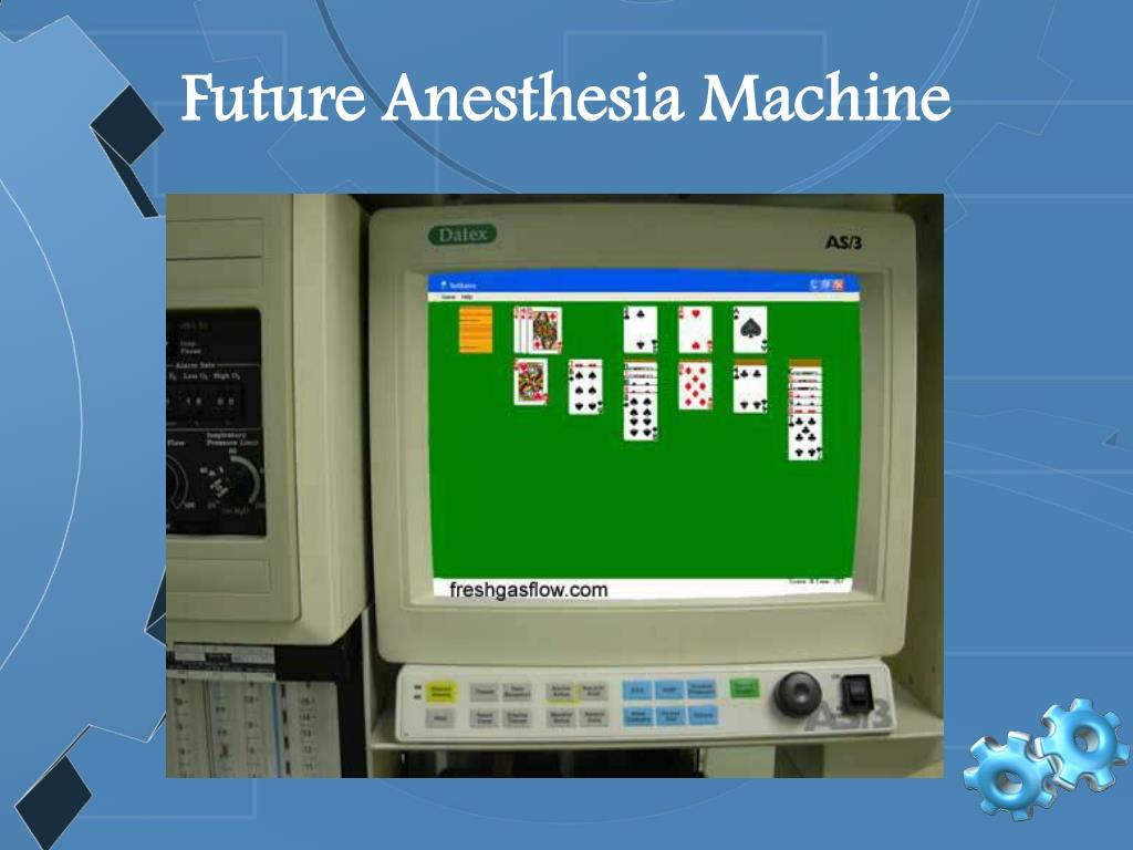 Future Anesthesia Machine