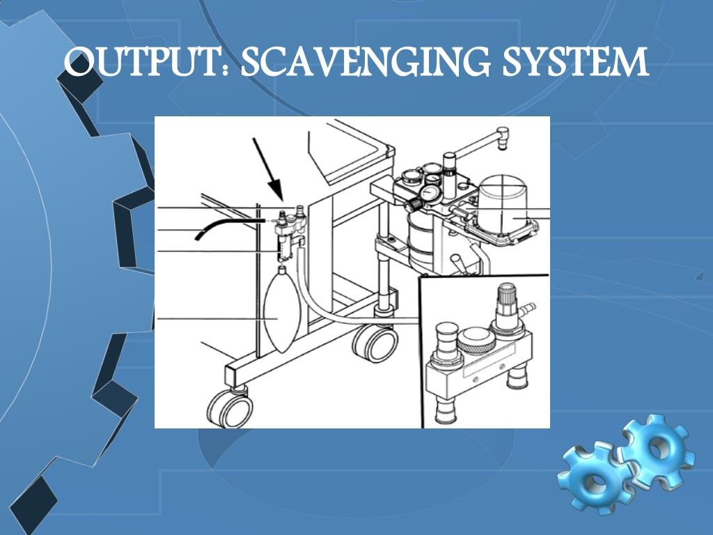 OUTPUT: SCAVENGING SYSTEM