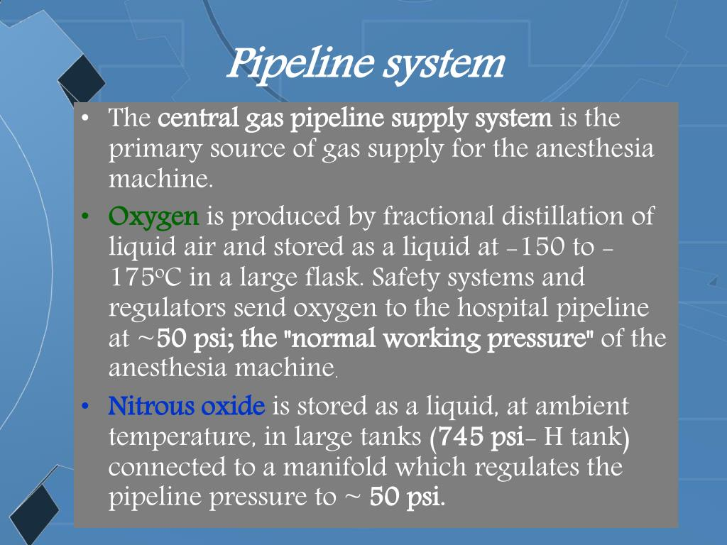 Pipeline system