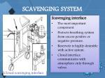 scavenging system85