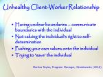 unhealthy client worker relationship14