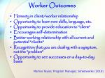 worker outcomes