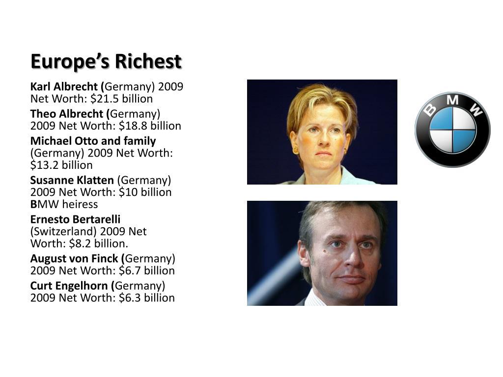 Europe's Richest