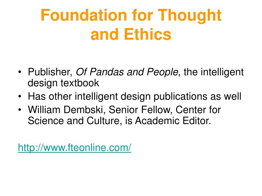 Foundation for Thought