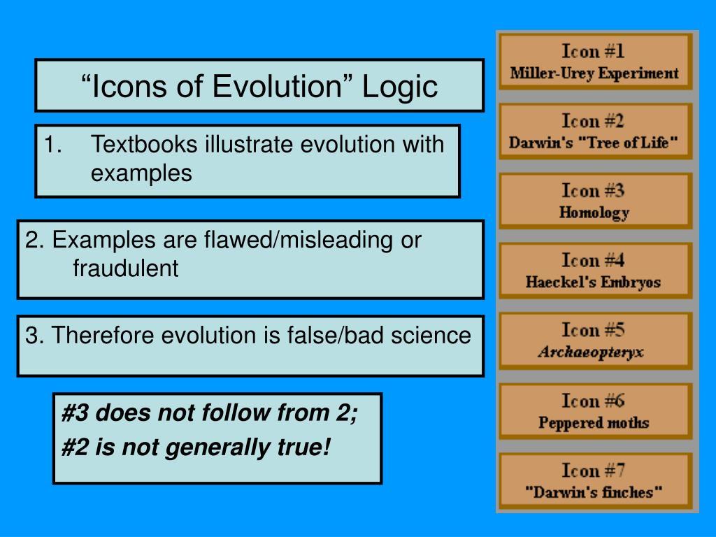 """Icons of Evolution"" Logic"