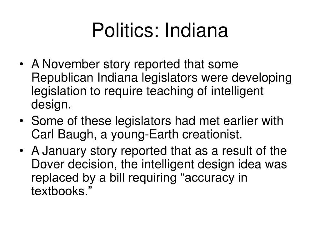 Politics: Indiana