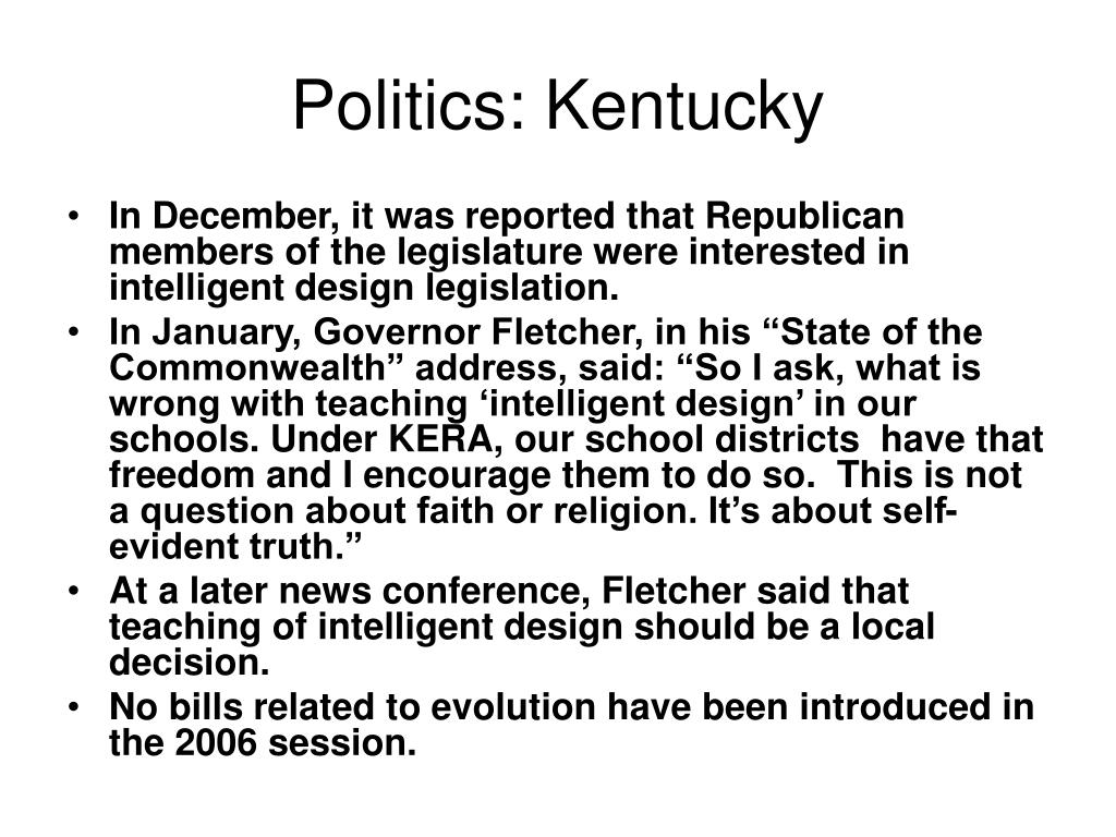 Politics: Kentucky