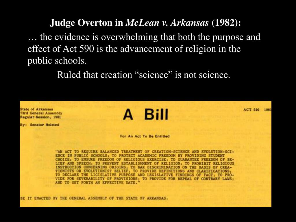 Judge Overton in