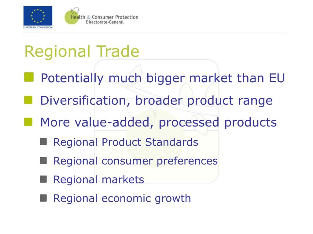 Regional Trade