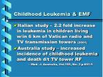 childhood leukemia emf14