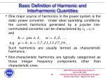 basic definition of harmonic and interharmonic quantities15