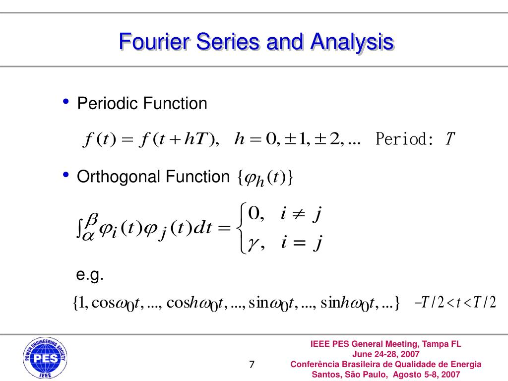 Fourier Series and Analysis