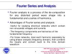 fourier series and analysis9