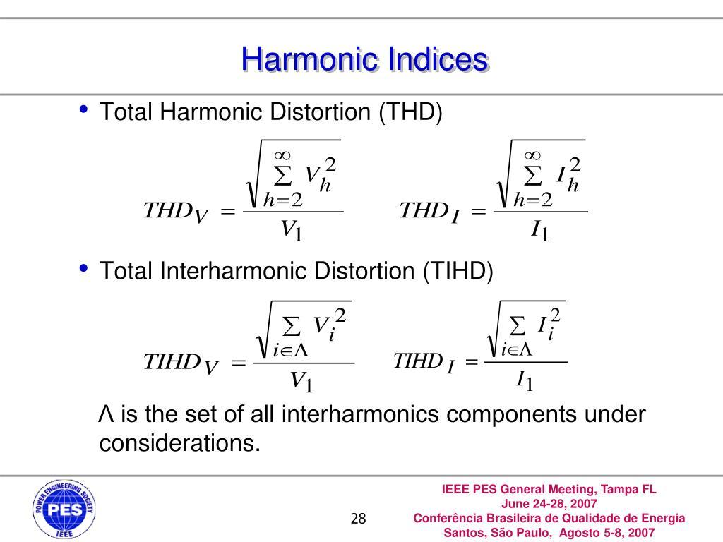 Harmonic Indices