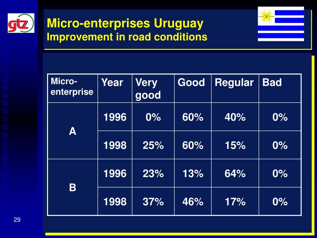 Micro-enterprises Uruguay