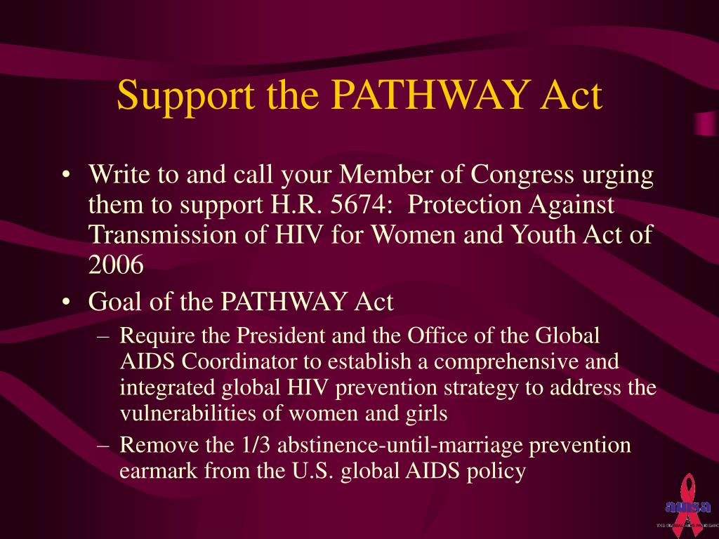 Support the PATHWAY Act