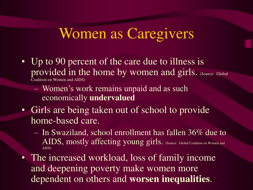 Women as Caregivers